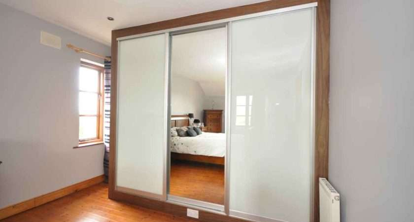 Frosted Glass Panel Bedroom Dividers