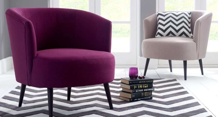 Furniture Comfy Chairs Bedroom Purple