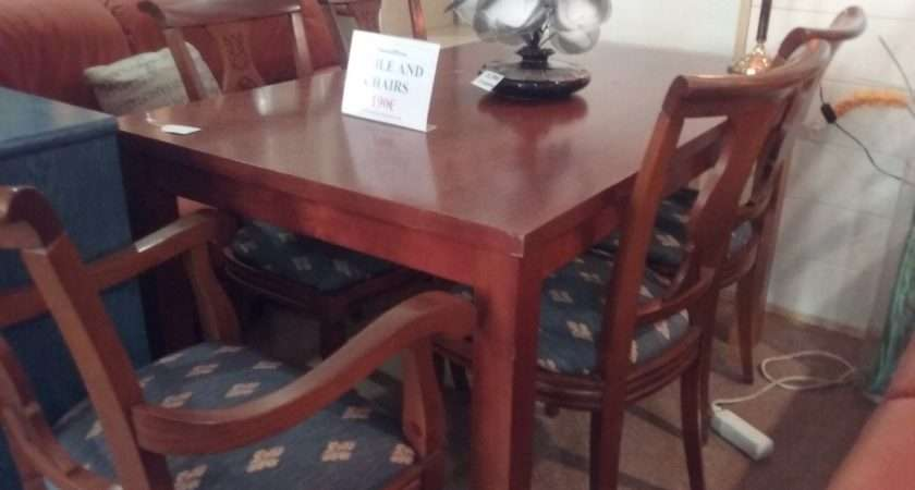 Furniture Second Hand Tables Chairs Dining Room Living