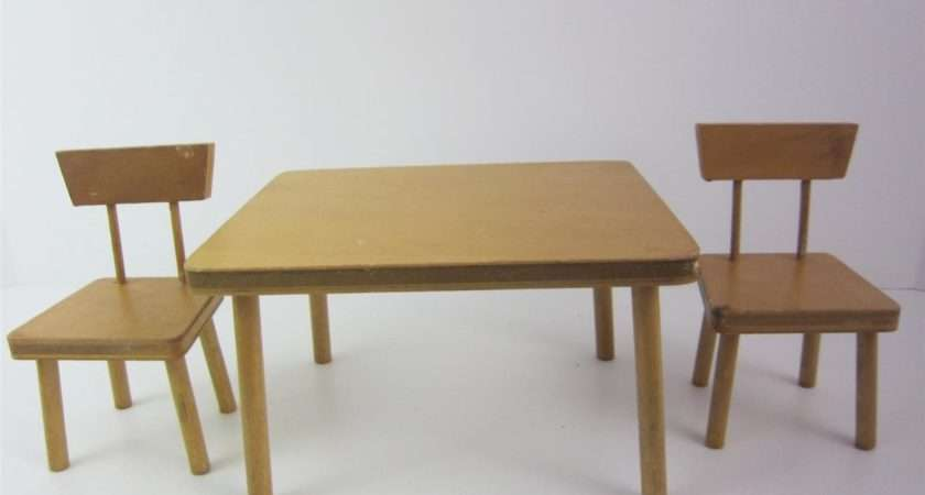 Furniture Set Kitchen Table Chairs Ginny Mcm Blond