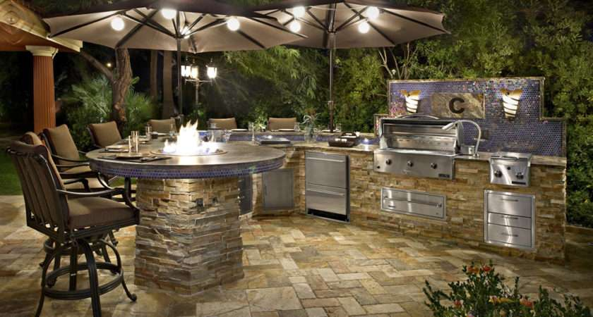Galaxy Outdoor Custom Kitchens Barbecue Grills Fire Pits