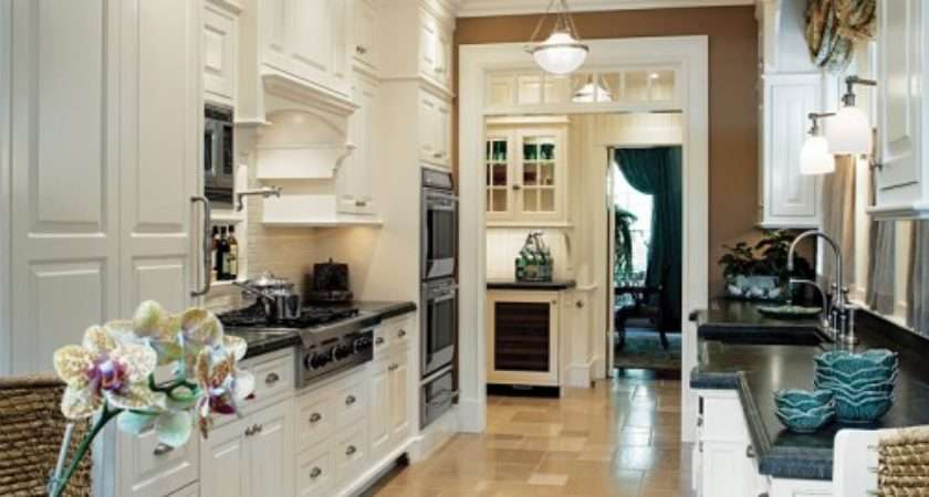 Galley Kitchens Designs Ideas Decorating Living Room
