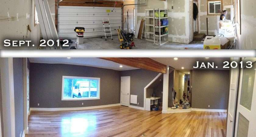 Garage Turned Into Living Space Google Search