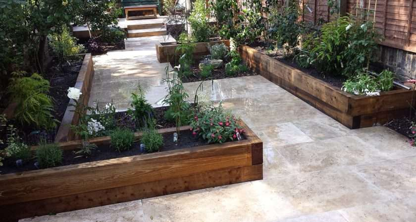Garden Patio Design Contemporary
