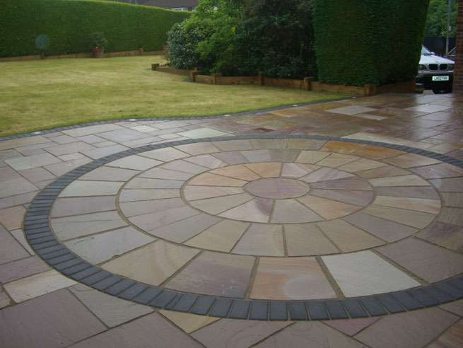 Garden Paving Ideas Design