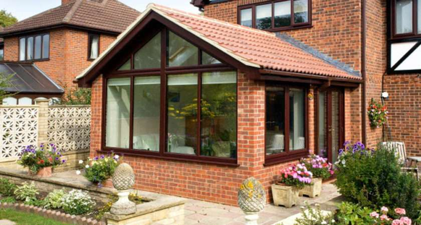 Garden Room Extension Glazed Gable