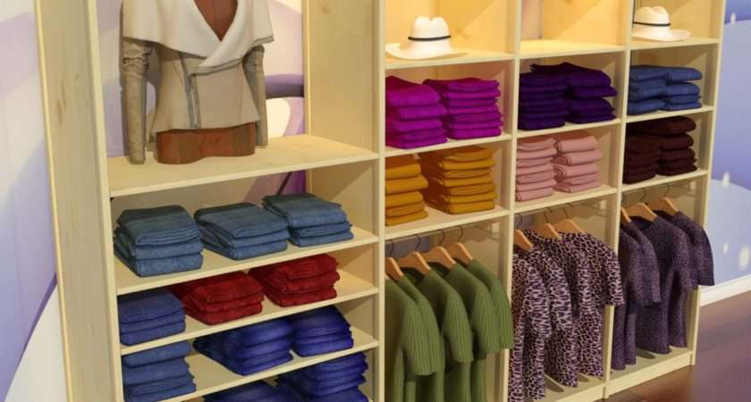 Garment Shop Design Retail Store