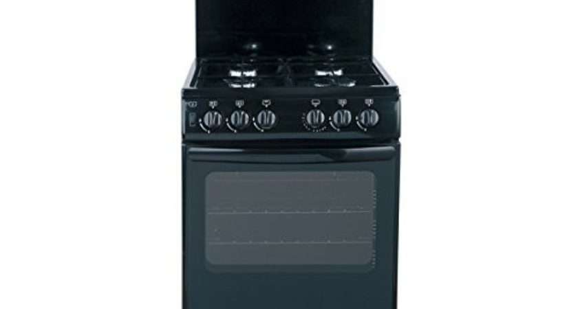 Gas Cooker Black Thlg Standing Cookers
