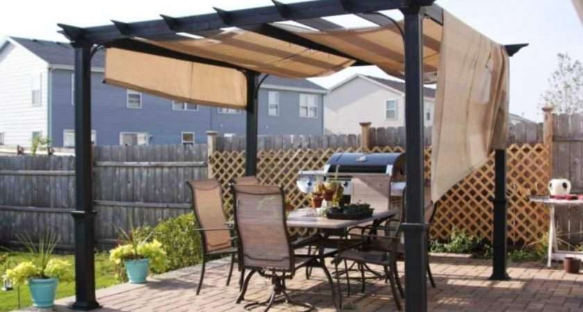 Gazebo Canopy Material Backyard