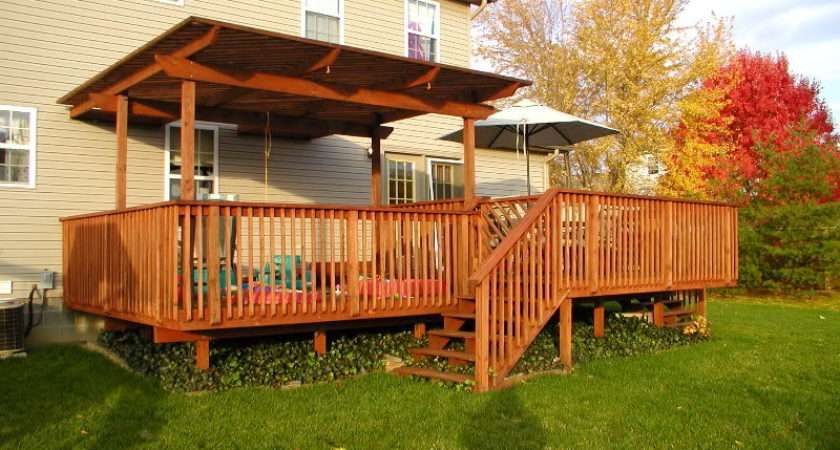 Genius Deck Designs Small Yards Home Building