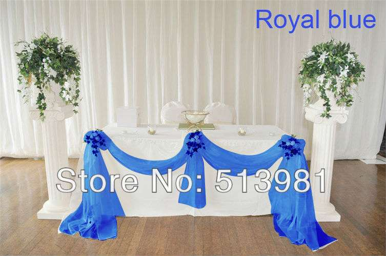 Get Cheap Royal Blue Wedding Decorations Aliexpress