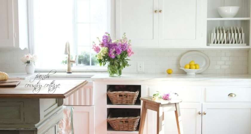 Get Look Vintage Inspired Kitchen Island French