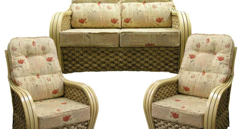 Gilda New Delux Lumbar Support Cane Suite Cushions Wicker