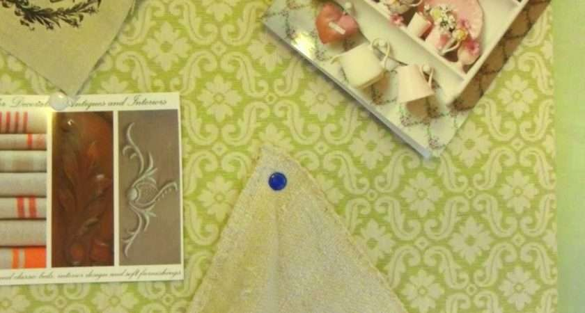 Gillyflower Make Fabric Covered Notice Board