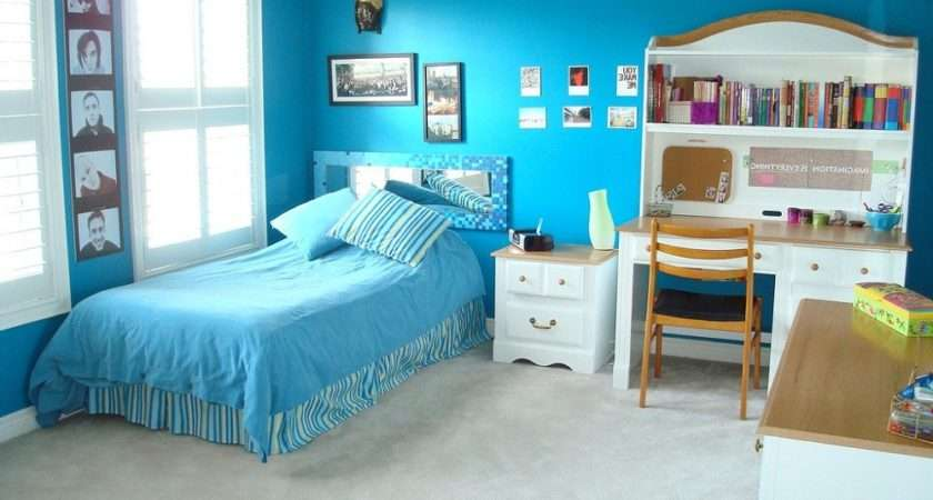 Girls Bedroom Decorating Ideas Cool Blue Color