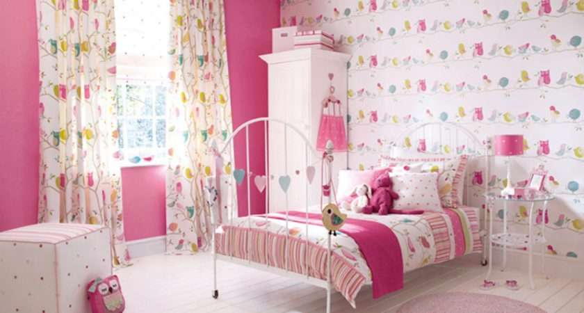 Girls Room Grasscloth