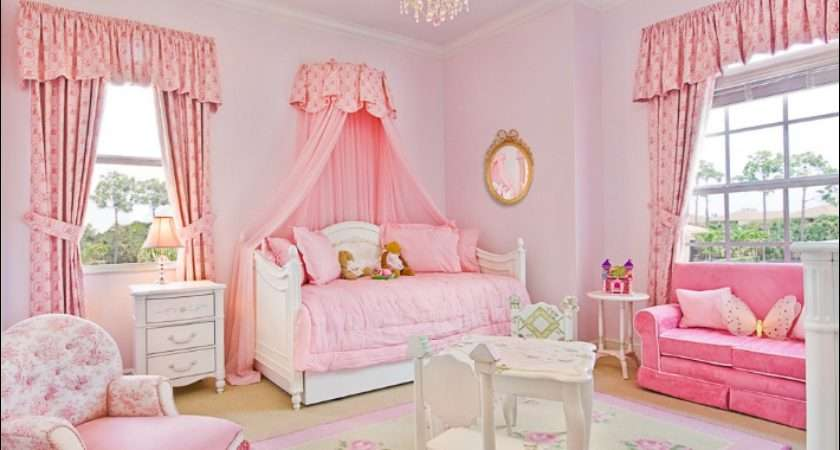 Girly Girl Vintage Style Bedrooms Interior Design Ideas