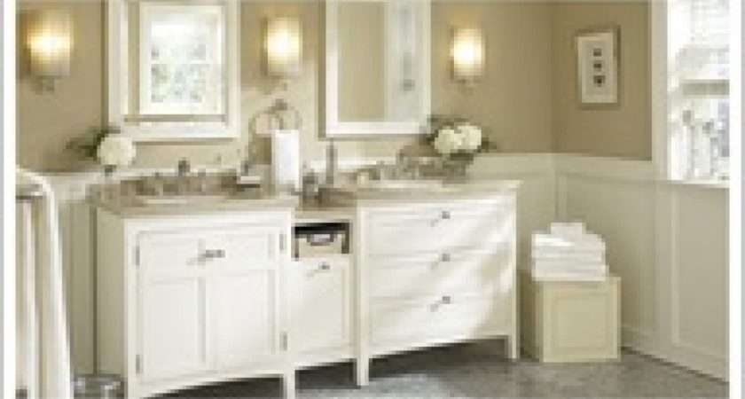 Give Your Bathroom Classic Elegance White Vanity Brushed