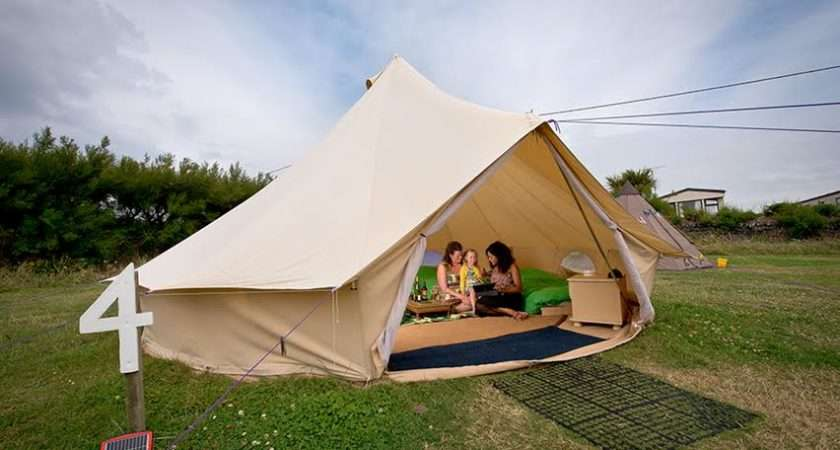 Glamping England Wales Travel Concept Solution