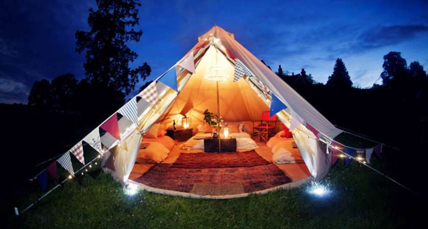 Glamping Holiday Welcome Luxury