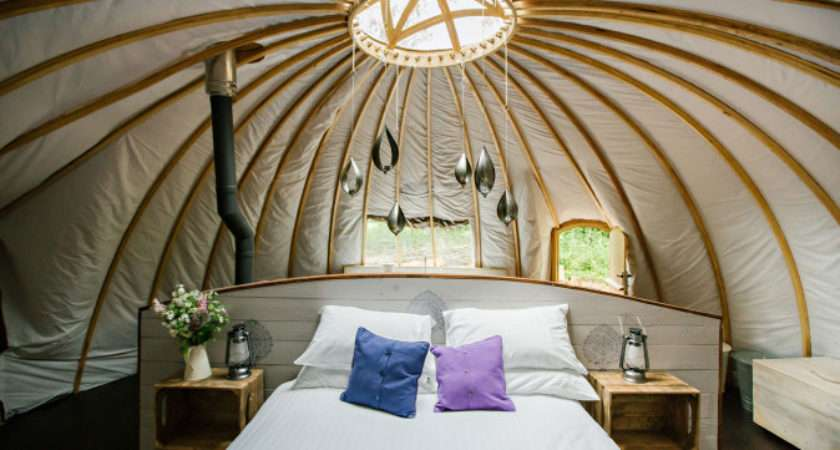 Glamping Monmouthshire Wales Penhein
