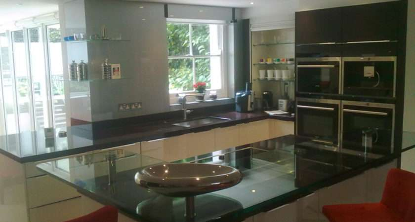 Glass Breakfast Bars Kitchen Essex Toughened