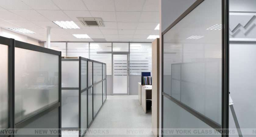 Glass Wall Partition Divider Sliding Door