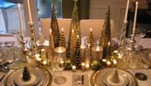 Golden Xmas Architecture Interior Design