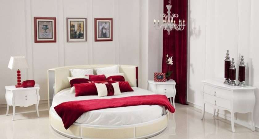 Good Bedroom Colors Oval Bed Red Scheme Color Design