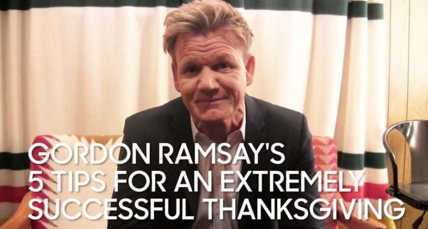 Gordon Ramsay Tips Extremely Successful