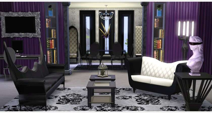 Gothic Glamour Living Room Home Office Collection Store