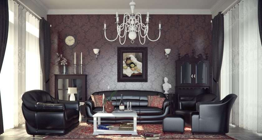 Gothic Living Room Decorating Ideas Orchidlagoon