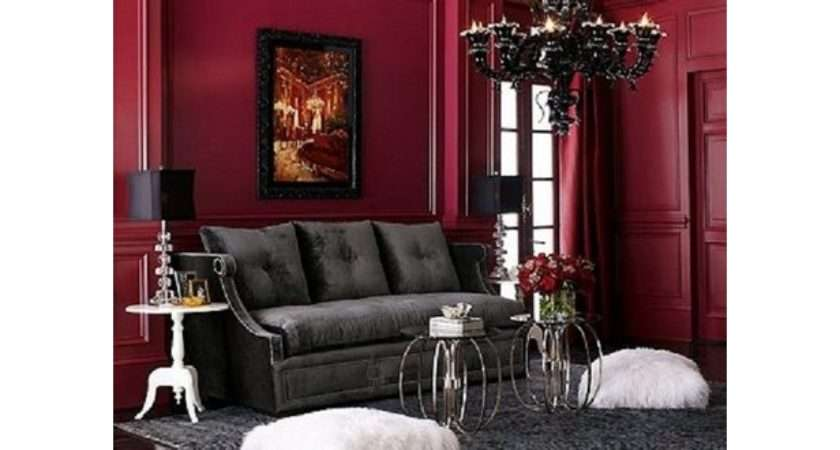 Gothic Living Room Design Ideas