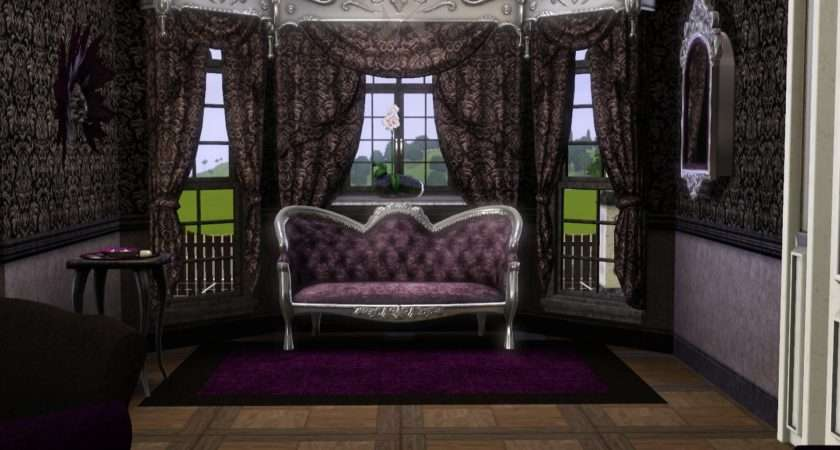 Gothic Living Room Effect