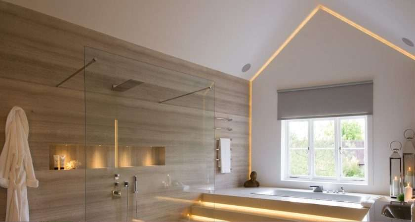 Graceful Vaulted Ceiling Bathroom Ideas Lavish High