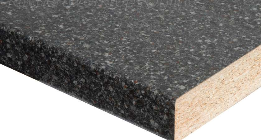 Granite Black Brown Laminate Kitchen Worktops