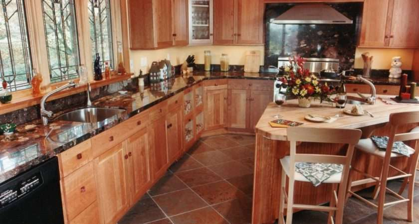 Granite Countertop Slate Flooring Decobizz