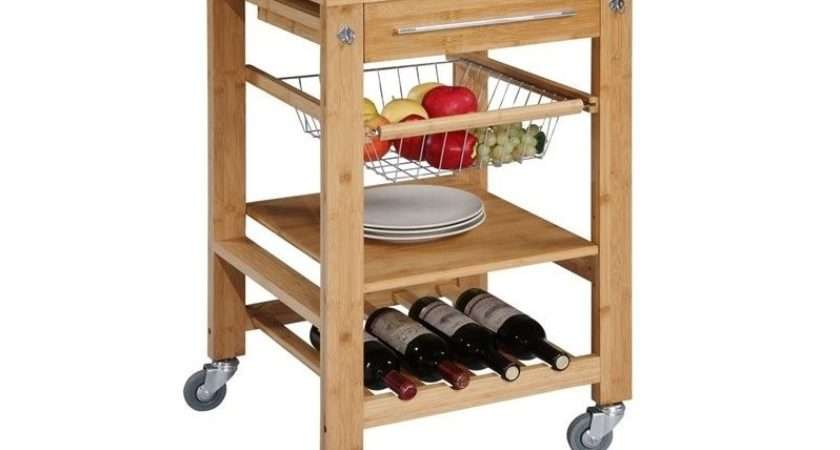 Granite Top Kitchen Cart Bmb