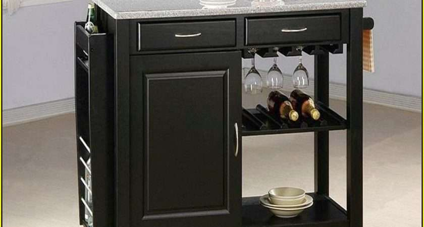 Granite Top Kitchen Island Cart Roselawnlutheran