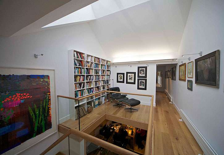 Grazebrook Architects Modern Terrace House Clifton Bristol