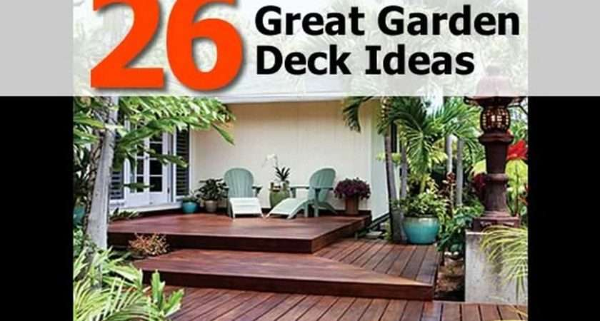 Great Garden Deck Ideas