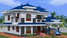 Green Homes Beautiful Kerala Home Design Feet