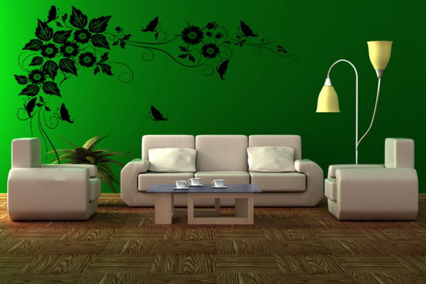 Green Living Room Ideas Bright Homecaprice