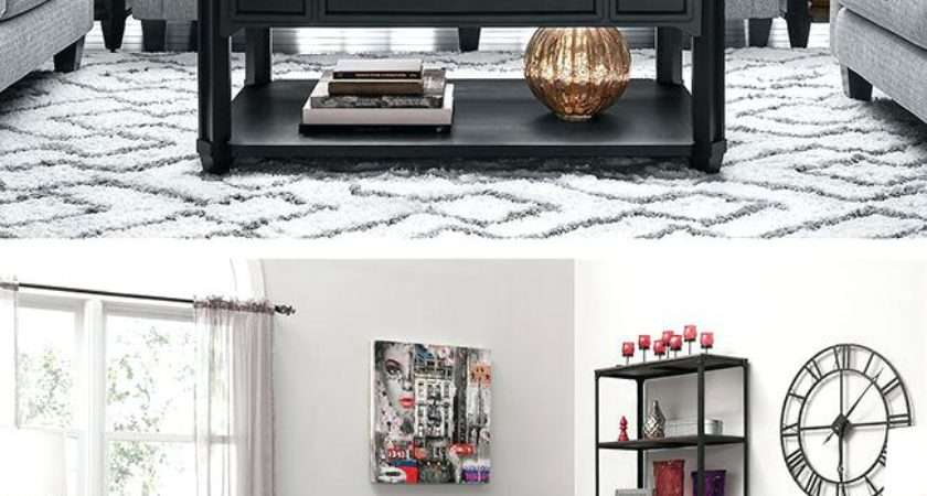 Grey Living Rooms Red Accents Conceptstructuresllc