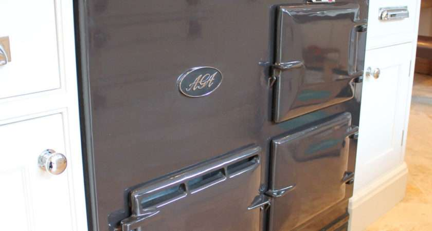 Grey Oven Deluxe Aga Pewter