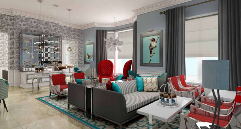 Grey Red Living Room Ideas