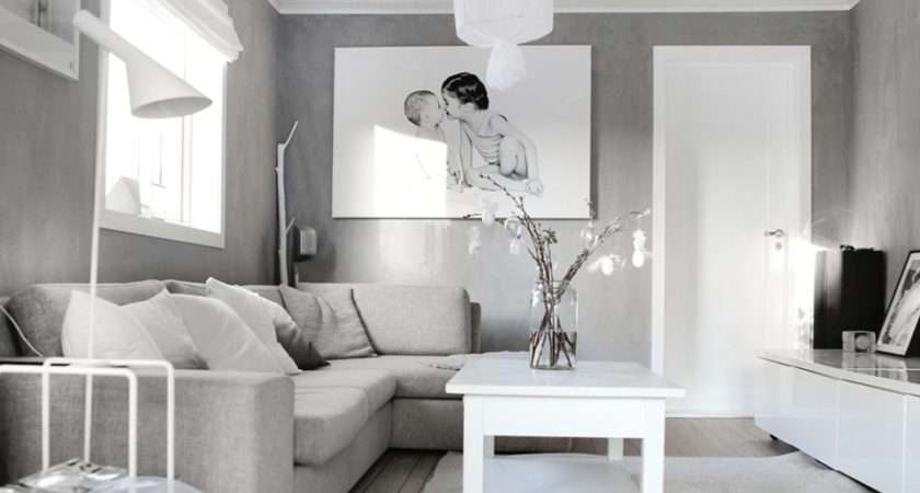 Grey White Living Room Paint Incredible Homes