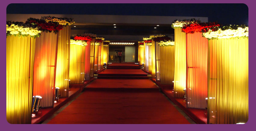 Hall Entrance Decorations Mandap