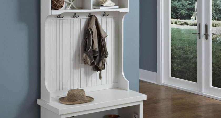 Hallway Bench Shoe Storage Coat Rack