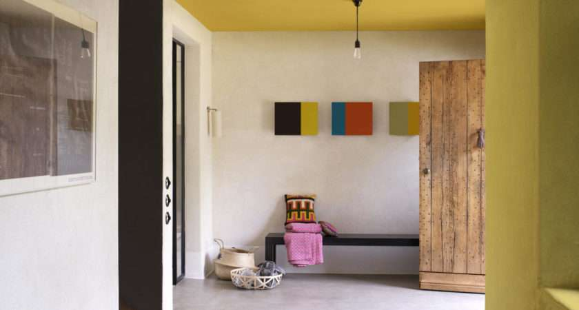 Hallway Embrace Vibrant Colour Make Statement Your